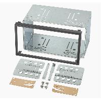 Facade Universelle Kit de montage universel UNI02 compatible avec autoradio double ISO 110mm