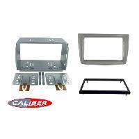Facade autoradio Alfa Romeo Kit 2DIN pour Alfa Romeo MiTo ap08 - Argent brillant - RAF4109D Caliber