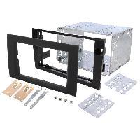 Facade autoradio Audi Kit 2DIN Autoradio FA138C compatible avec Audi A4 00-08 Seat Exeo ap08 - Anthracite