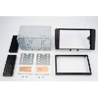 Facade autoradio Audi Kit 2 DIN compatible avec Audi A3 ap03 - noir