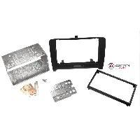 Facade autoradio Audi Kit 2DIN compatible avec Audi TT ap07 - noir