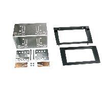 Facade autoradio Audi Kit 2DIN pour Audi A4 02-07 - noir