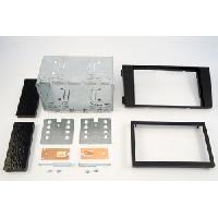 Facade autoradio Audi Kit 2DIN pour Audi A6 01-04 - Noir