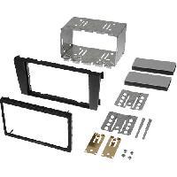 Facade autoradio Audi Kit 2Din compatible avec Audi A6 01-05