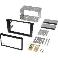 Facade autoradio Audi Kit Facade Autoradio FA138B compatible avec Audi A4 02-07 - 2Din Noir