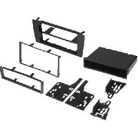 Facade autoradio Audi Kit facade compatible avec Audi A4 avec vide-poche compatible avec Autoradio Symphony
