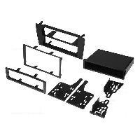Facade autoradio Audi Kit integration autoradio compatible avec Audi A4 Noir