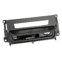 Facade autoradio BMW Facade boutons pour BMW Serie 1 3 M3 Noir avec cendrier Generique