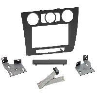 Facade autoradio BMW Kit Facade Autoradio FA3071 compatible avec BMW Serie 1 E87 - Clim Man sans I-Drive sans Nav