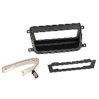 Facade autoradio BMW Kit facade FABM1 compatible avec BMW 3 E9x relocalisation boutons sieges chauffants