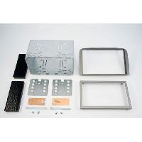 Facade autoradio Cadillac Kit 2DIN pour CADILLAC DTS ap07 - NOIR - ADNAuto