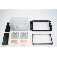 Facade autoradio Cadillac Kit autoradio 2DIN pour CADILLAC BLS ap06 - Noir - ADNAuto