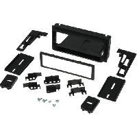 Facade autoradio Chevrolet Kit 1Din pour Chevrolet USA -Camaro Blazer Avalanche Corvette Tahoe Pontiac ap82 -Noir