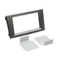 Facade autoradio Chevrolet Kit 2DIN compatible avec Chevrolet Nubira ap08 - Noir - RAF1305D