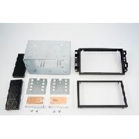 Facade autoradio Chevrolet Kit 2DIN pour Chevrolet Captiva ap06 noir - ADNAuto