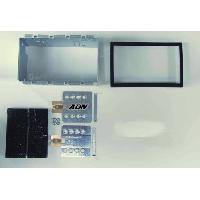 Facade autoradio Chevrolet Kit 2DIN pour Chevrolet Nubira ap08 - Noir - RAF1305D