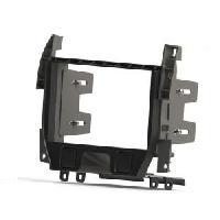 Facade autoradio Citroen Kit 2 Din compatible avec Citroen C3 ap09 - DS3 ap09 - Noir