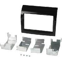 Facade autoradio Citroen Kit 2Din compatible avec Citroen Jumper ap11 Fiat Ducato MY ap11 Peugeot Boxer ap11 - noir brillant
