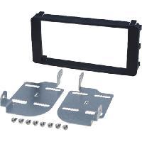 Facade autoradio Citroen Kit 2Din pour Citroen C-Crosser Mitsubishi Oulander Pajero Peugeot 4007 - ADNAuto