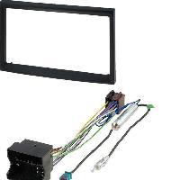 Facade autoradio Citroen Kit Installation Autoradio Eco KFAC436-2 pour Peugeot 207 307 Citroen C2 C3