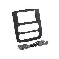 Facade autoradio Dodge Kit 2 Din DODGE RAM -DR- 2002>2005 Noir