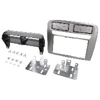 Facade autoradio Fiat Facade autoradio 2DIN compatible avec Fiat Grande Punto ap04 Linea ap06 - Argent - ADN-FA