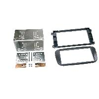 Facade autoradio Ford Kit 2Din Autoradio FA231F pour Ford C-Max Focus Galaxy Mondeo S-Max - ap07 - Noir - ADNAuto