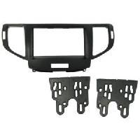 Facade autoradio Honda Kit 2 Din compatible avec Honda Accord 2008 -noir