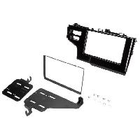 Facade autoradio Honda Kit Autoradio 2Din FA503 compatible avec Honda Jazz ap14 - Noir brillant