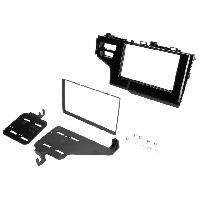 Facade autoradio Honda Kit Autoradio 2Din FA503 pour Honda Jazz ap14 - Noir brillant