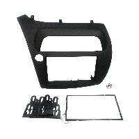 Facade autoradio Honda Kit Facade Autoradio KA142B compatible avec Honda Civic 8 - Noir