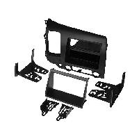 Facade autoradio Honda Kit Facade autoradio 1 DIN pour Honda Civic 06-10 avec vide poche - gris - ADNAuto