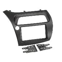 Facade autoradio Honda Kit de montage 2din OEM compatible avec Honda Civic 06-11