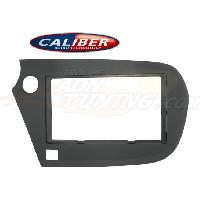 Facade autoradio Honda Kit integration 2DIN pour Honda Insight Hybrid ap09 - Noir Caliber