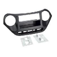 Facade autoradio Hyundai Facade autoradio 1DIN pour HYUNDAI I10 ap13 noir - avec vide poche - ADNAuto