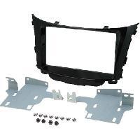 Facade autoradio Hyundai Kit 2Din Autoradio FA427 pour Hyundai i20 ap012 sans navigation origine