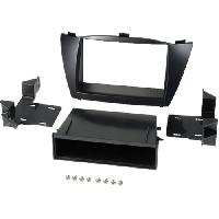 Facade autoradio Hyundai Kit 2Din pour Hyundai IX35 ap10 avec vide-poche