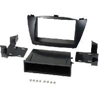 Facade autoradio Hyundai Kit 2Din pour Hyundai IX35 ap10 avec vide-poche - ADNAuto