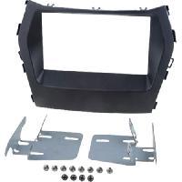 Facade autoradio Hyundai Kit 2Din pour Hyundai Santa Fe -DM- ap12 - vehicule sans navigation origine