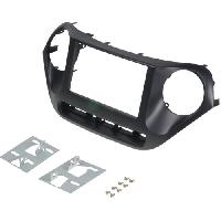Facade autoradio Hyundai Kit 2Din pour Hyundai i10 ap13 ADNAuto