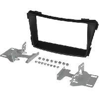 Facade autoradio Hyundai Kit 2Din pour Hyundai i40 -VF- ap11 - noir - vehicule sans autoradio origine