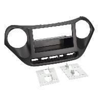 Facade autoradio Hyundai Kit Facade Autoradio FA476A pour Hyundai i10 ap13 - 2Din avec vide-poche - ADNAuto
