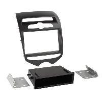 Facade autoradio Hyundai Kit Facade autoradio FA441B pour Hyundai ix20 - Noir mat ADNAuto