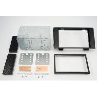 Facade autoradio Iveco Kit facade compatible avec Iveco Daily ap07 - Noir