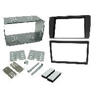 Facade autoradio Jaguar Kit facade compatible avec Jaguar X-type S-type RAF2200DPRO avec vide-poche
