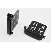 Facade autoradio Jeep KIT 2 DIN compatible avec JEEP GRD CHEROKEE 11-13 DODGE DURANGO ap11