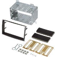 Facade autoradio Kia Kit 2Din compatible avec Kia Ceed 10-12