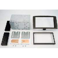 Facade autoradio Lancia Kit 2DIN compatible avec Lancia Musa 05-09 - noir