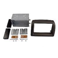 Facade autoradio Lancia Kit 2DIN compatible avec Lancia Ypsilon 03-07 - Gris