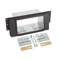 Facade autoradio Land Rover Kit integration 2din compatible avec Land Rover Discovery Freelander RRover Sport
